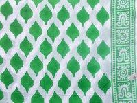 GREEN HAND BLOCK PRINT