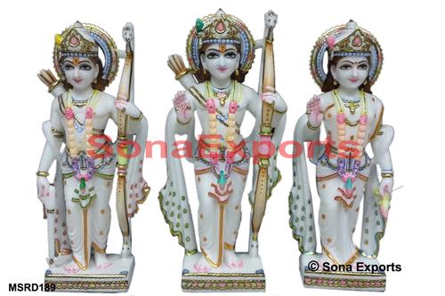 White Ram Darbar Statue