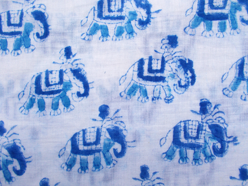 Elephant Printed Pattern
