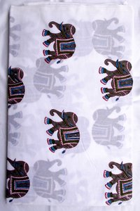 Elephant Hand Block Print Design
