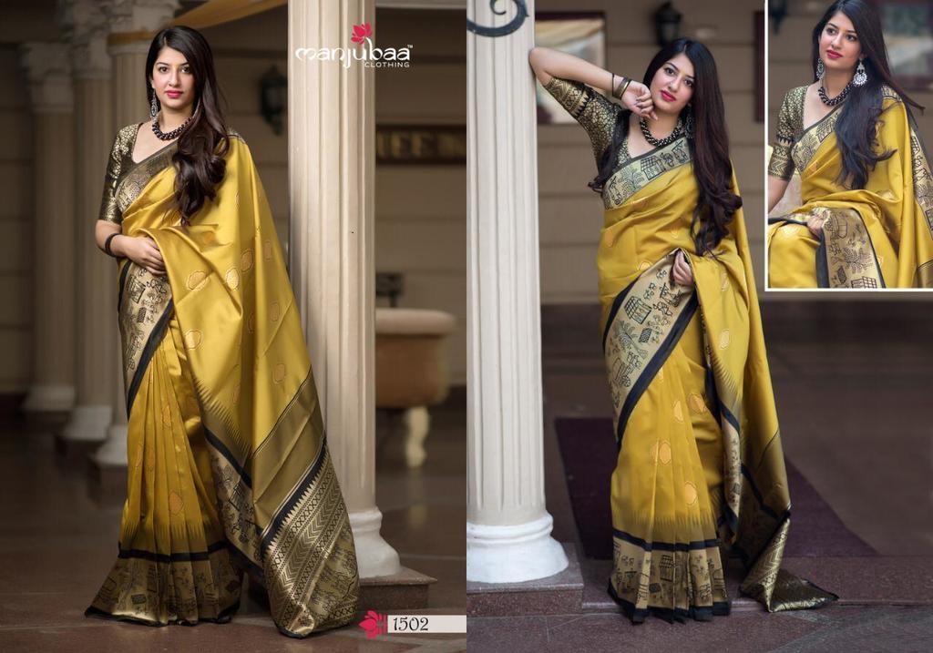 Stylish Banarasi Silk Sarees