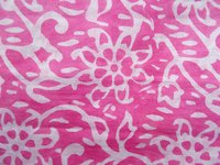 Pink Color Hand Block Print
