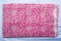 Pink Color Hand Block Print