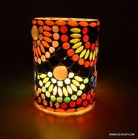 Decorated  Candle HolderHandcrafted