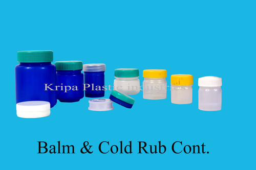 Balm & Cold Rub Container