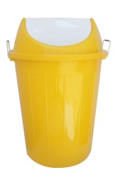 Plastic Dustbin with Swing Lid 80 Ltr