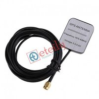 GPS MAG. ANTENNA Rg 174 cable L 5mtr SMA (M) Straight