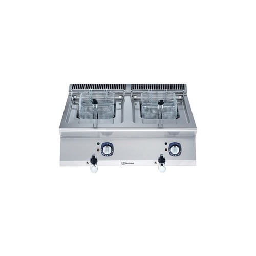 Two Wells Electric Fryer Table Top