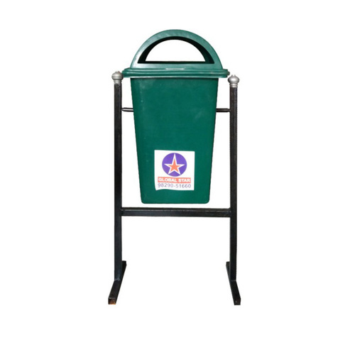 Plastic Dustbin with Stand 100 Ltr.