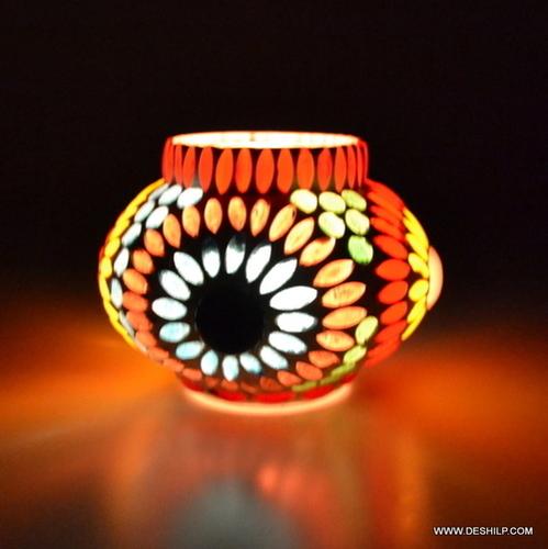 DECORATIVE T LIGHT GLASS CANDLE VOTIVE