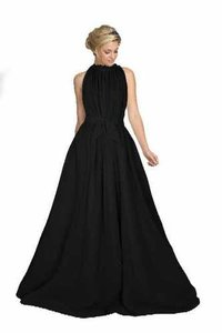 Black Long Gown