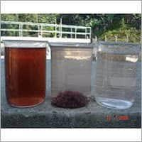 Effluent water treatment chemicals