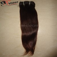 Indian Virgin Natural Straight Virgin Hair Weft