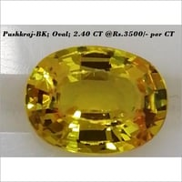 Pushkraj-BK; 2.40 CT(Oval)