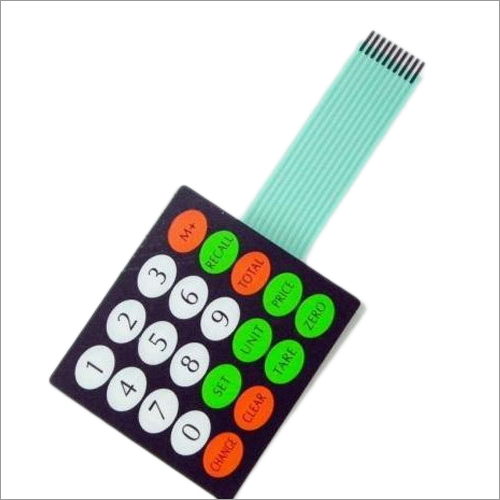 Membrane Keypad Sticker