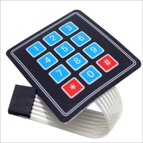 Membrane Switch Keypad Sticker
