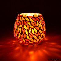 Decor Glass Candle Outdoor or indoor lighting Candle