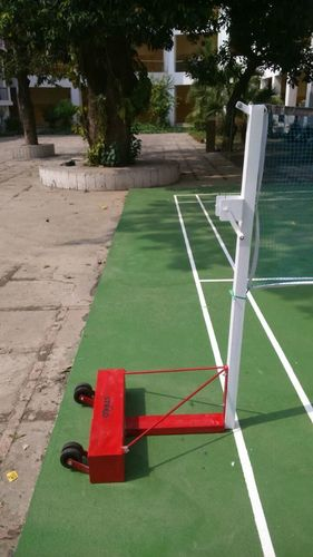 BADMINTON POLE PORTABLE