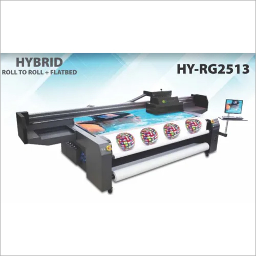 HY-RG-2513 Hybrid UV Printer