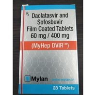 MyHep DVIR Daclatasvir 60mg Sofosbuvir 400mg Tablets