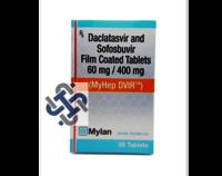 Daclatasvir 60mg Sofosbuvir 400mg Tablets