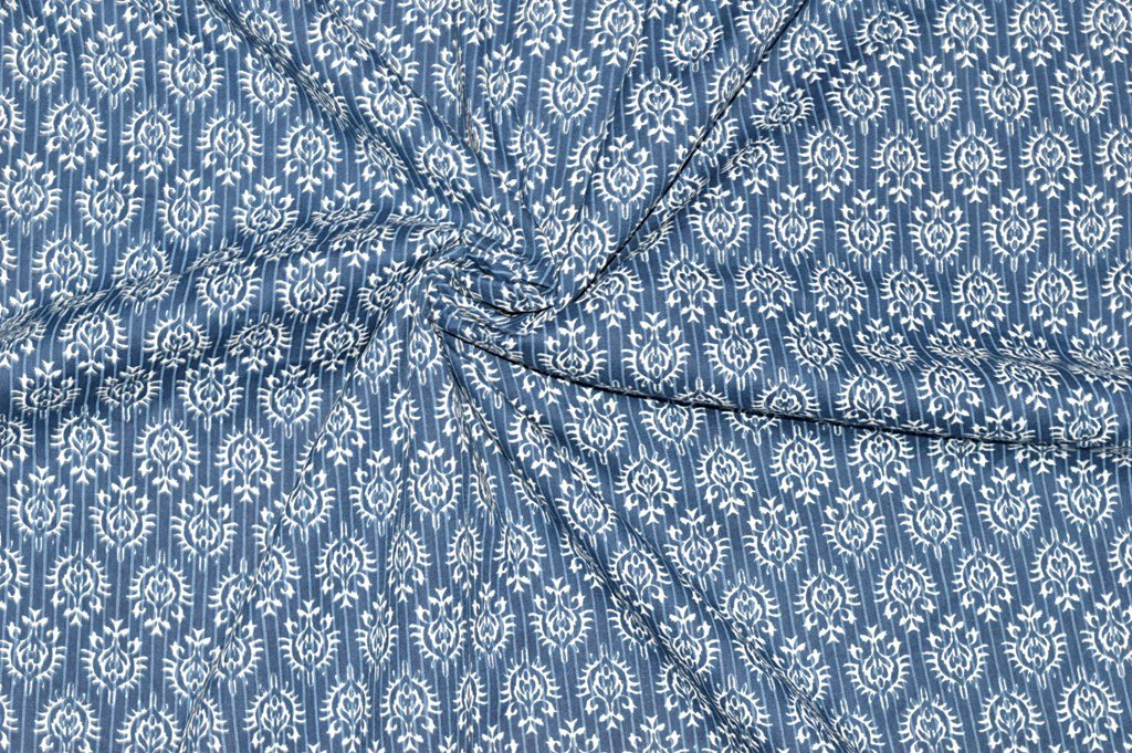 Small Flower Printed Dressmaking Running Fabric
