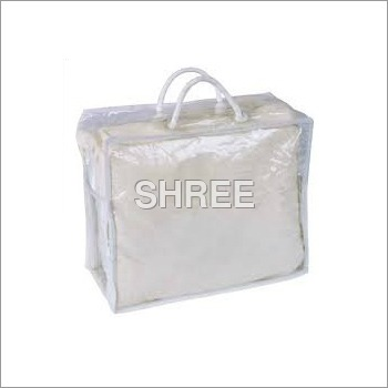 Plastic Blanket Handle Bag