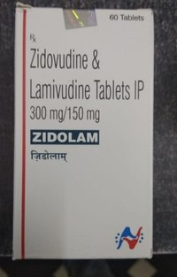 Zidolam Lamivudine 150mg Zidovudine 300mg Tablets