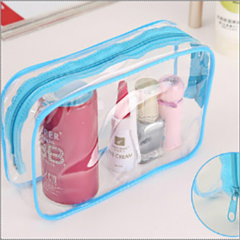 Transparent Plastic Zipper Bag