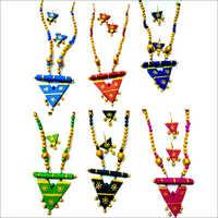 Handmade Ladies Terracotta Artificial Jewellery Set