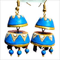 Terracotta Double Jhumka