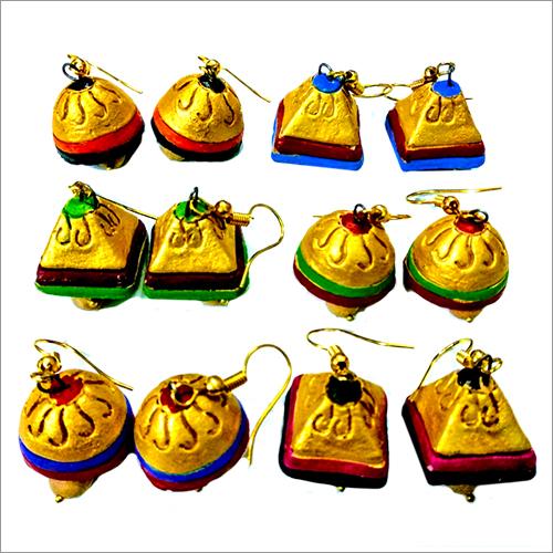 Handmade Designer Terracotta Jhumka