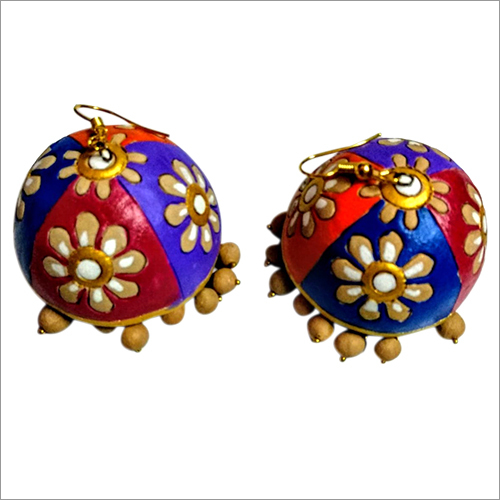 Terracotta Artificial Earrings