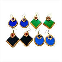 Handmade Designer Terracotta Earring