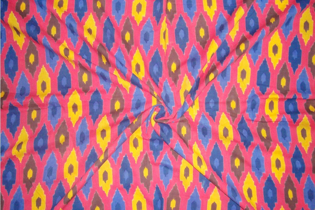 Traditional Indian Handmade 100% Pure Cotton Fabric