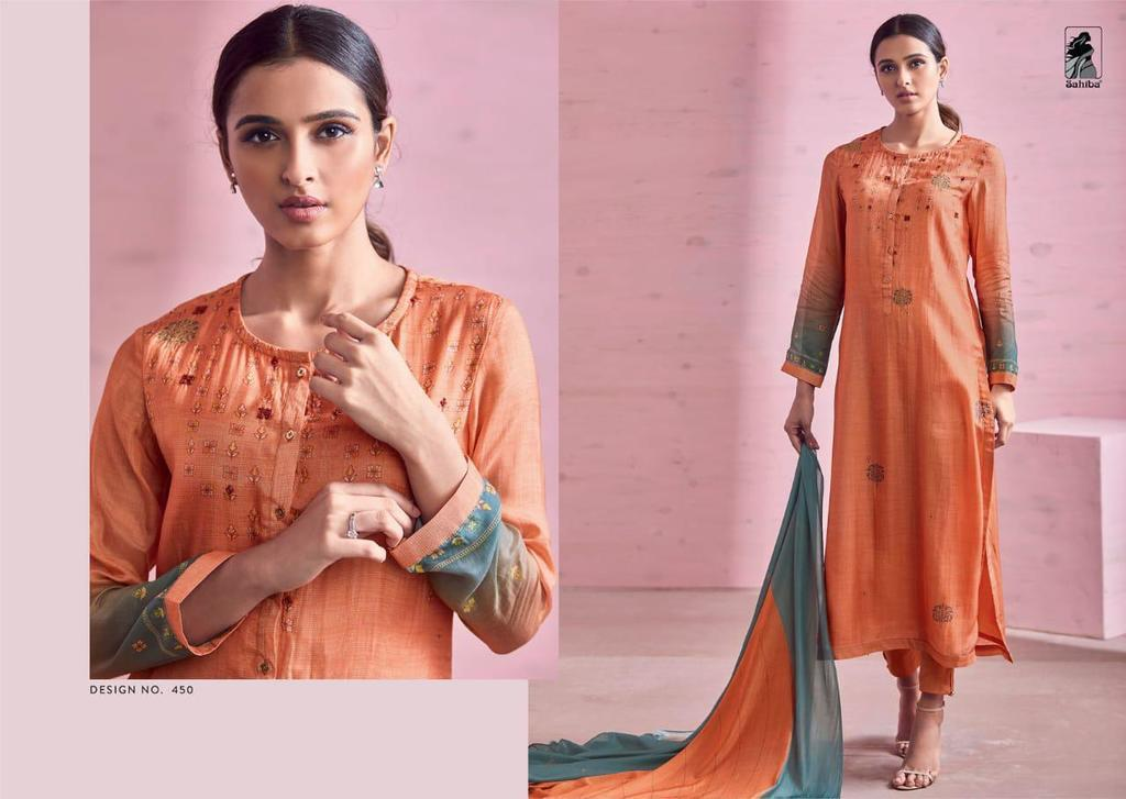 Cotton Hand Work Salwar Kameez