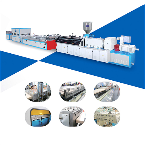 PVC Plastic Wood Door Panel Extruding Production Line