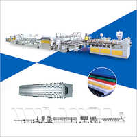 PC - PP - PE Hollow Profile Production Line