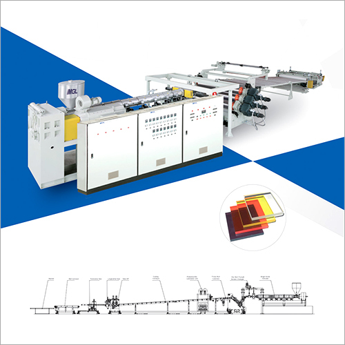 PC - PMMA - PS -MS Sheet-Board Production Line