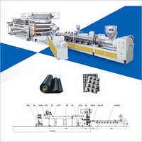 PE - TPO - EVA - PVC Waterproof Geomembrane Sheet Production Line