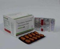 Aceclofenac paracetamole Chlorzoxazone Tablets