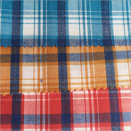 Polyester Magic Top Dyed Checks