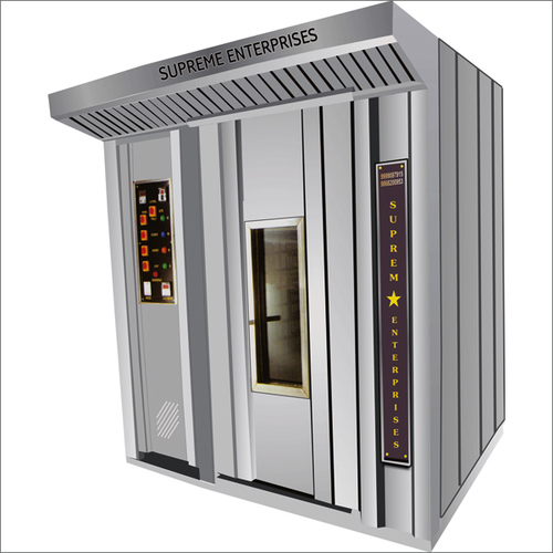 Rotary Rack Oven (Diesel, Gas, Wood)