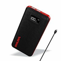 COOLNUT 20000 mAh Power Bank (Black & Red)