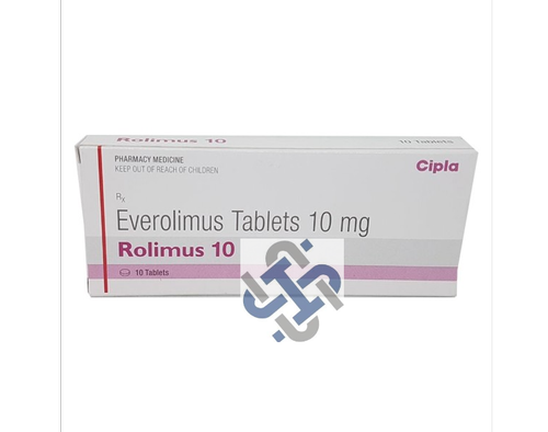 Rolimus Everolimus 10mg Tablet
