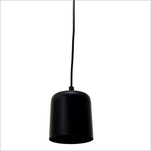 Black Aluminium Hanging Lamp