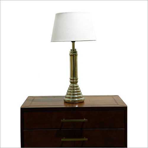 Gold Glass Table Lamp