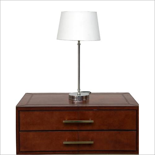 Matt Nickel Table Lamp