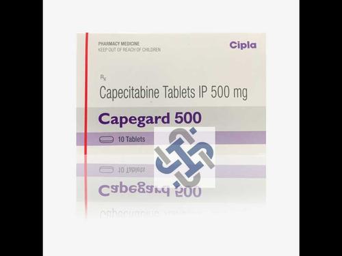 Capegard Capecitabine 500mg Tablet