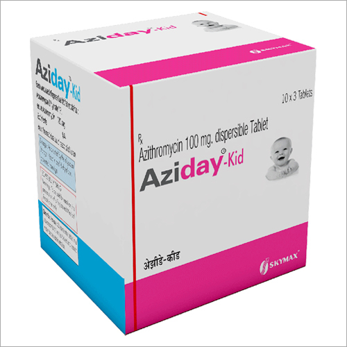 Azithromycin 100 mg Dispersible Tablet